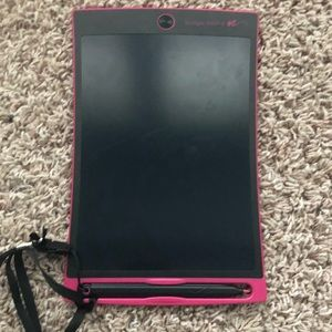 Other - Pink boogie board LCD writer